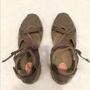 Teva women's gray omnium sandals